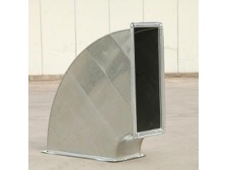 镀锌共板法兰方形弯头